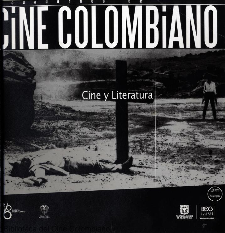 Imagen de apoyo de  Cuadernos de cine colombiano No. 14B: Cine y literatura (2009)